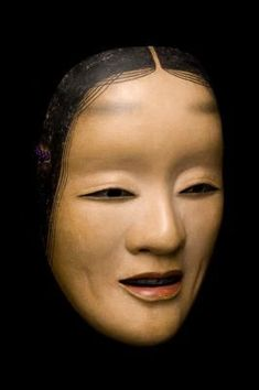 Noh masks are used in the Japanese theatre. These are masks that actors use to preform a historical show based on famous Japanese litrature. Noh Mask are Japanese Noh Mask, Noh Theatre, Mask Drawing, Female Dancers, Basara, Home Tattoo, Samurai Art, Autumn Painting, China Art
