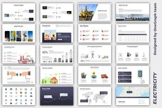 Powerpoint Presentation Template : Electricity by OneGraph.  marketing, slide, leaflet, network, corporate, business, banner, presentation, advertising, infographic, brochure, layout, timeline, report, flyer, powerpoint, project, keynote, document, template, cover, paper Business Icon, Corporate Business, Best Presentation Templates, Icon Photography, Office Icon, Real Estate Icons, Web Design Icon, Communication Icon, Network Icon