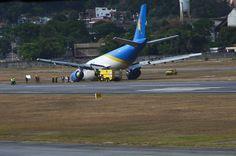 Resultado de imagem para avião da Sterna sai da pista