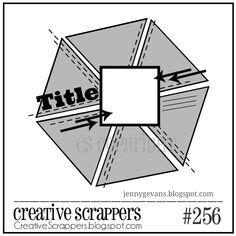 Creative Scrappers Sketch 256 - Scrapbook.com