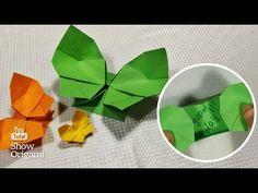 borboleta caixa Origami com o desejo do papel (Leyla Torres) - YouTube