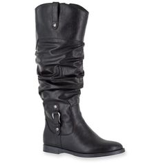 Easy Street  Vim Tall Boot ($70) ❤ liked on Polyvore featuring shoes, boots, black, black high boots, stretchy knee high boots, tall boots, tall stretch boots and high boots