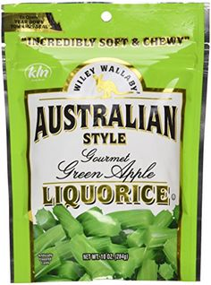 Wiley Wallaby Green Apple Licorice 10 oz licorice package... https://www.amazon.com/dp/B0012ZMCXU/ref=cm_sw_r_pi_dp_x_joM1ybYGFPV3C