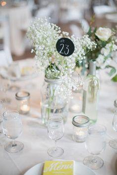 Les moineaux de la mariée: Du gypsophile de mariage