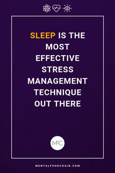 Deep, sound, relaxing sleep for as little as one or two nights can have more impact on your cortisol levels than a life-time of stress management classes. Stress Management Activities, Stress Management Techniques, Chronic Stress, Stress And Anxiety, Health Facts, Health Quotes, Stress Quotes, Important Quotes, Stress Relief Tips
