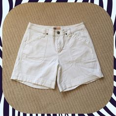 Faded Glory Shorts Size 8 White shorts in good condition Faded Glory Shorts