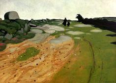 Titolo dell'immagine : Felix Vallotton - F.Vallotton / Breton Landscape / 1917