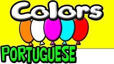 Learn Colors in Portuguese   Brazilian Portuguese   Portuguese for Kids   Learn Portuguese   Portuguese Language   Beginner Portuguese #portugueselessonsforkids #learnportugueseforkids