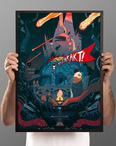 Posters and prints for adventure on Behance