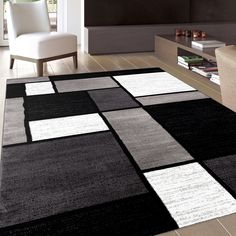 Shop a great selection of Rugshop Contemporary Modern Boxes Area Rug, x Gray. Find new offer and Similar products for Rugshop Contemporary Modern Boxes Area Rug, x Gray. Contemporary Area Rugs, Modern Area Rugs, Modern Contemporary, Living Room Grey, Living Room Carpet, Rugs In Living Room, Bedroom Rugs, Bedroom Decor, Zen Bedrooms