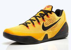 5e03ea8c80c0 Nike Kobe 9 EM – University Gold – Black – Laser Crimson- http