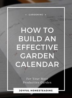 A vegetable garden calendar is an invaluable tool in vegetable garden planning to help you get the most from not only that garden plant outdoors, but your indoor gardening as well.
