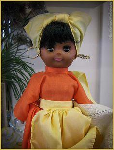 african american doll   African American Doll #7167  