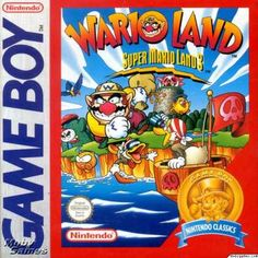 Wario Land: Super Mario Land 3 for the Gameboy. Super Mario Land, Super Mario Bros, Game Boy, I Am Game, Gameboy Games, Nintendo Games, Retro Video, Playstation, Super Mad