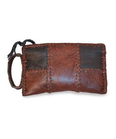 Take a look at this Black & Caramel Maria Wristlet by Adam Alexis on #zulily today! $35 !!
