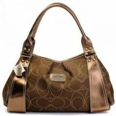Coach Kristin Double C Print Shoulder Bag Brown U05011 $73.00 http://www.theredstyle.com/