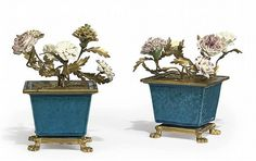 A LATE LOUIS XV ORMOLU-MOUNTED CHINESE TURQUOISE PORCELAIN C