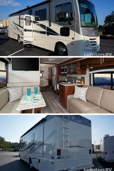 The Fleetwood Flair is a modern Class A gas that has everything you'll need to find success on the road. If you're interested in seeing more of this model, stop by your closest Lazydays RV location. Motorhomes For Sale, Class A Motorhomes, Travel Trailers For Sale, Used Rvs, Motor Homes, Rv Life, Recreational Vehicles, Abandoned, Camper