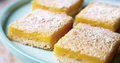 Lavender-Lemon Shortbread Bars Recipe