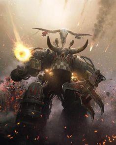 Ghazghkull !!!, Jose Daniel Cabrera Peña on ArtStation at https://www.artstation.com/artwork/ghazghkull