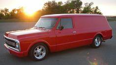 69 Chevy Pickup Panel