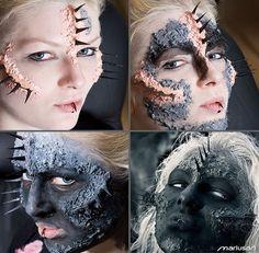 Amazing makeup #Halloween stuffs| http://halloween-clothes.lemoncoin.org