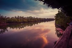 https://flic.kr/p/CXrr26 | Ogod River - Sunset | Ogod River, Donsol, Philippines. Great place to see fireflies in the nights!