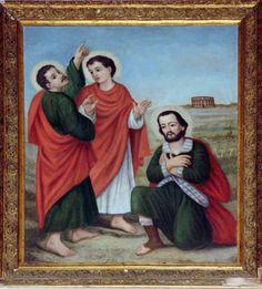 S. Salvetti, Santi Martiri Larinesi