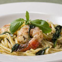 Garlic Parmesan Zucchini Chips Recipe by Tasty Tandoori Masala, Linguine, Cooking Tips, The Best, Meal Prep, Shrimp Pasta, Garlic Shrimp, Pesto Pasta, Garlic Parmesan