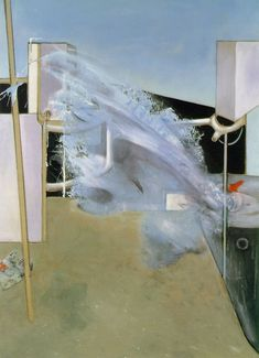 BACON, Francis  Jet of Water  1988  Oil on canvas  78 x 58 in. (198 x 147.5 cm)