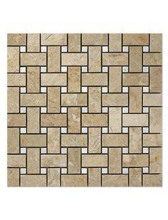 Brick Patterns, Glass Mosaic Tiles, Basket Weaving, Murals, Dots, Flooring, Beige, Interior, Flowers