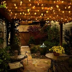 1000+ images about Outdoor Lighting on Pinterest Restaurant patio, Patio string lights and ...