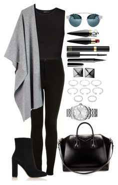 Untitled #1279 by fabianarveloc on Polyvore featuring polyvore fashion style MANGO Topshop Ille De Cocos Gianvito Rossi Givenchy Calvin Klein Waterford Forever 21 Christian Louboutin Marc Jacobs clothing