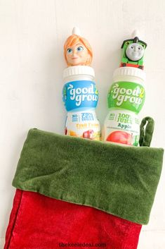 These good 2 grow juices are a great stocking stuffer for kids. Not only are they fun but they will also get used. #stockingstuffer #christmas #kidschristmas