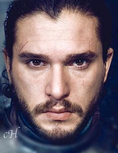 Kit Harington as Jon Snow by Marc Hom for EW