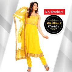 Make yourself as a #Special Icon! By wearing this lovely #Churidar from #R.S.Brothers. #Churidars in Latest designs with great offers Exclusively available @R.S.Brothers.