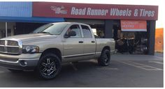 "20"" K2 Off-Road with 33x12.50-20 #getlifted #roadrunnerwheels #rimfinancing #mudtire  Please share or like post. Thank You! http://ift.tt/2pqxg7W"
