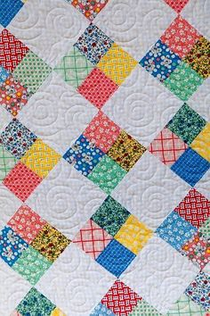 Product Information Product Type - Kit Fabric Collection - Country FairFabric Ma. Cute Quilts, Scrappy Quilts, Easy Quilts, Small Quilts, Mini Quilts, Charm Pack Quilts, Charm Quilt, 4 Patch Quilt, Quilt Blocks