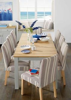 Dining by the sea with the Moda Chairs from Next