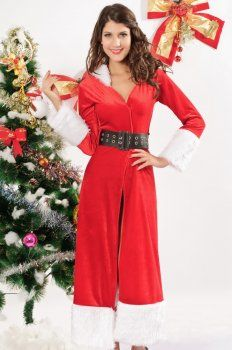 Christmas costume ( red hooded dress )