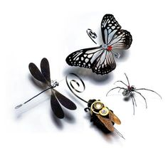 mechanised insects