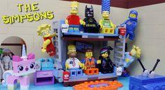 El Condensador de Fluzo » La intro de Los Simpsons con los personajes de 'La LEGO película'