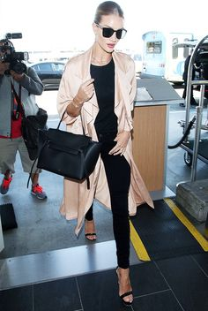 4 A-List Travel Outfits You Won't Regret at the Airport via @WhoWhatWearUK