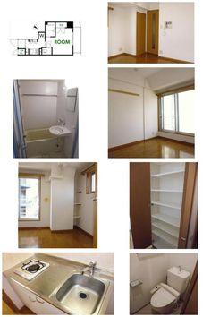 Tokyo Meguro Apartment for Rent¥85,000 @Mita 21.59㎡ Ask for details; shion@jafnet.co.jp