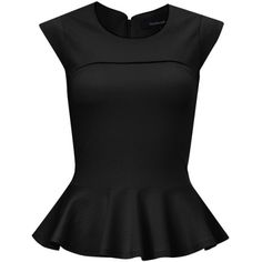 French Connection Valencia Peplum Top