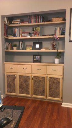 Office Closet conversion WOW!