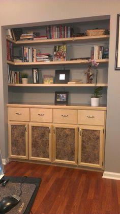Office Closet conversion WOW!