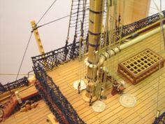 Forums / POF Build Logs / 1:96 HMS Victory Scratchbuild - Model Ship Builder Model Sailing Ships, Model Ships, Model Ship Building, Boat Building, Endeavour Ship, Hms Victory, Wooden Ship, Nautical Art, Tall Ships