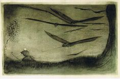 Alfred Kubin - The Pursued One  by Aeron Alfrey, via Flickr