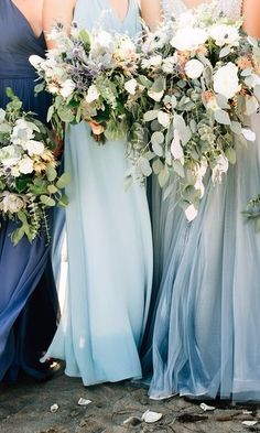 35 Lush Bridesmaids Bouquets and Wedding Flowers